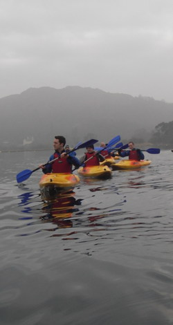 kayak team building days coniston windermere Lake District