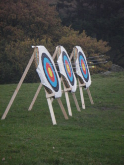 Archery team building activities Kendal Bowness Windermere lake