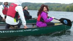 Team building orienteering challenge Lake District