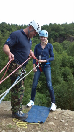 Abseiling team building days Lancashire Mancheter Lake district