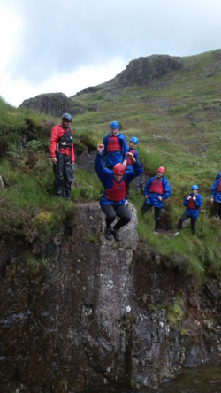 Team building canyoning days Coniston Windermere Bowness Lake di