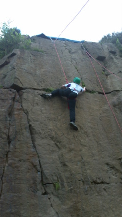 Team building rock climbing Blackburn preston wigan lancashire u