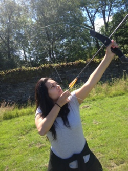 2014 archery competition days team working